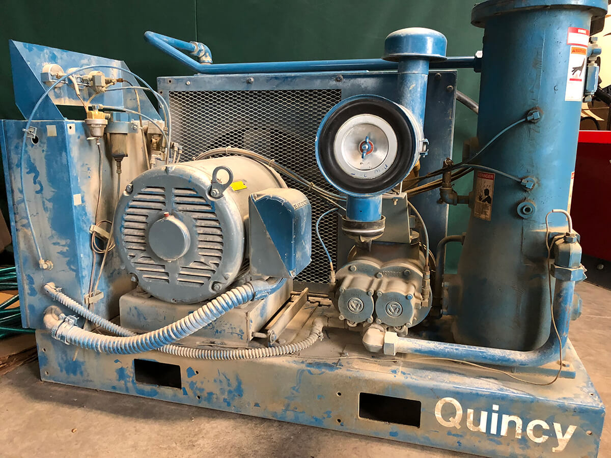 Used Quincy QSB-50 air compressor